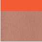 Beige Translucide Mat / Orange fluo satin